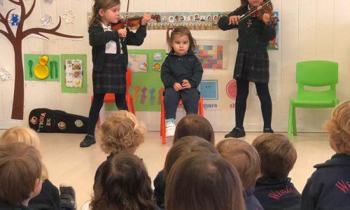 Recital violín infantil